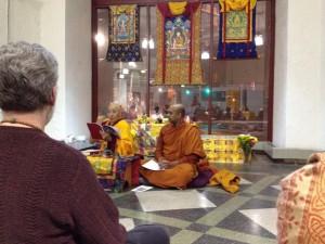 Ven. Khenpo teaching